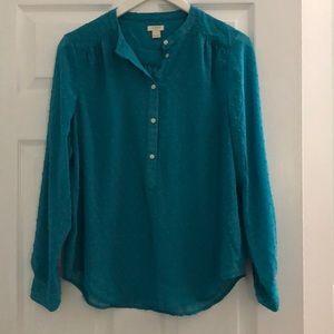 JCrew factory blouse